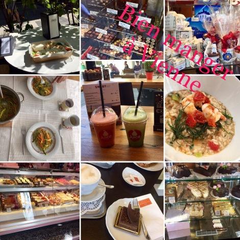 Quelques repas sains et gourmands à Vienne
