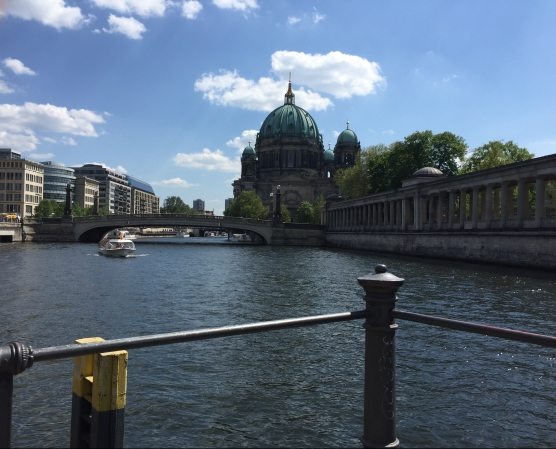 Fleuve, quartier des musées à Berlin