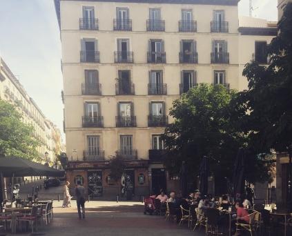 Un resto à Madrid