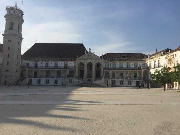 Université et bibliothèque de Coïmbra