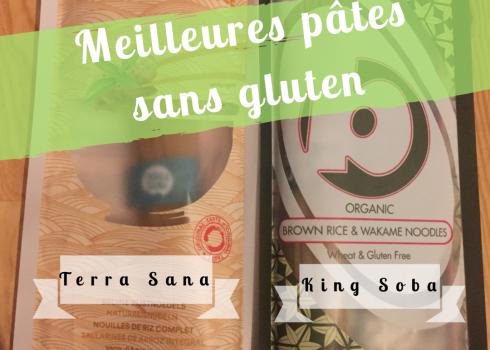Meilleures pâtes sans gluten et bio