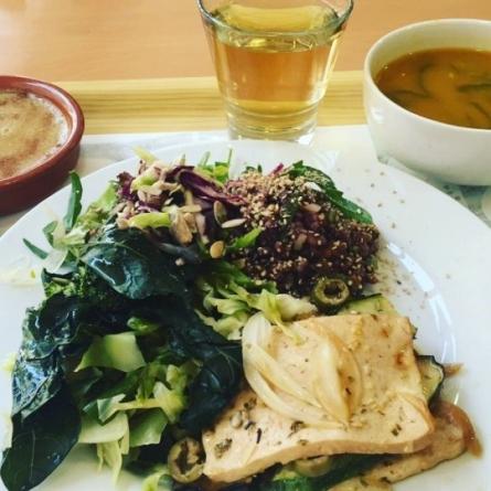 Repas végan et sans gluten à Coïmbra, Cozinha Consciente
