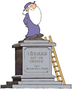 Léonard est un génie par De Groot & Turk