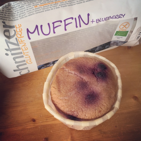 Muffin myrtille Schnitzer sans gluten