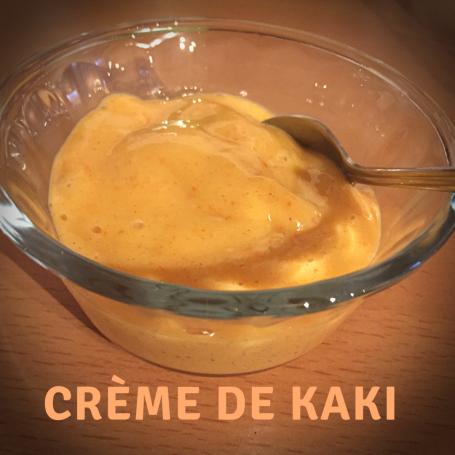 crème de kaki