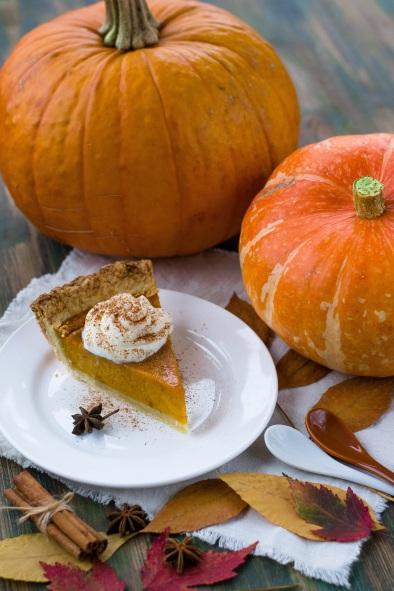 Thanksgiving - potiron et tarte