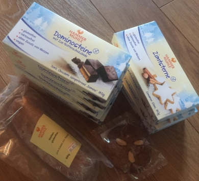 biscuits sans gluten de Noël