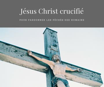 Jésus Christ en croix