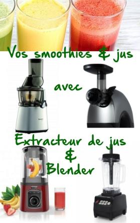 extracteur jus blender