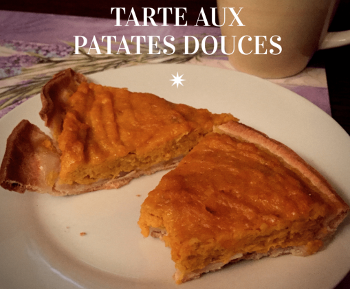 tarte aux patates douces